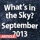 What's In the Sky - September